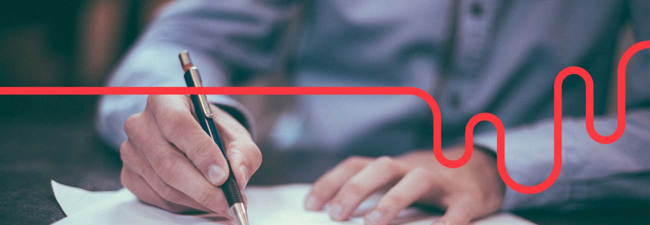 signing document lifeline